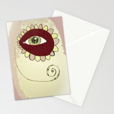 See No Evil - Pink Stationery Cards
