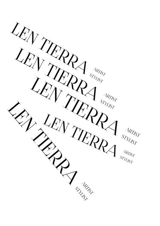 Len Tierra Brand Art Print