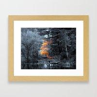 Last of Autumn Framed Art Print