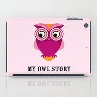 My owl story iPad Case
