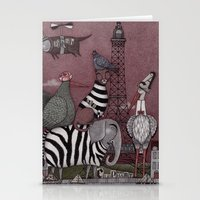 Animal Convention Stationery Cards