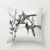 Oak Branch Throw Pillow