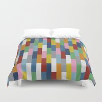 Bricks Rotate Duvet Cover