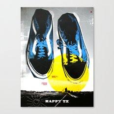 Happy Texas (Marcus' Vans) Canvas Print