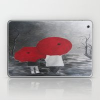 Black White Red Mother A… Laptop & iPad Skin