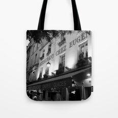 B&W Chez Eugene Tote Bag
