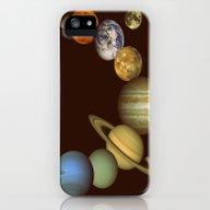 The Solar System iPhone (5, 5s) Slim Case