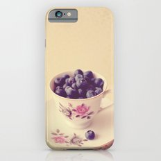 Blueberries in a Teacup iPhone 6 Slim Case