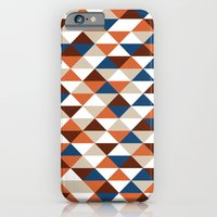 iPhone & iPod Case featuring Triangle Pattern #5 by LoMoCo