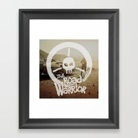 The Road Warrrior Framed Art Print
