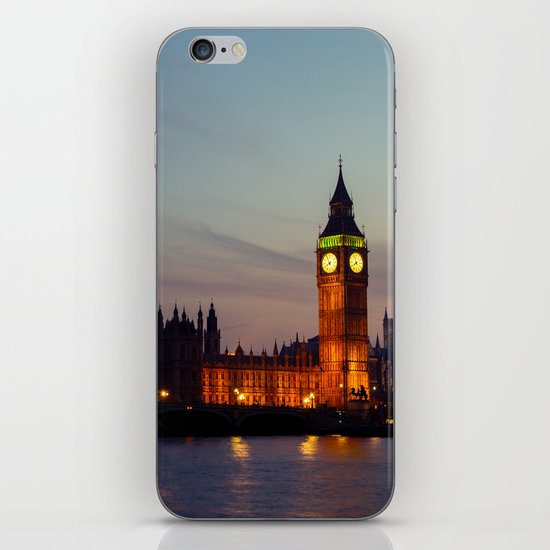 London | Big Ben iPhone & iPod Skin