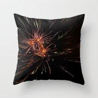 Fireworks4 Throw Pillow