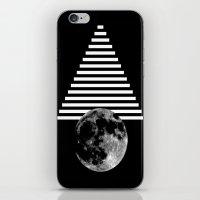 Moon Walk iPhone & iPod Skin