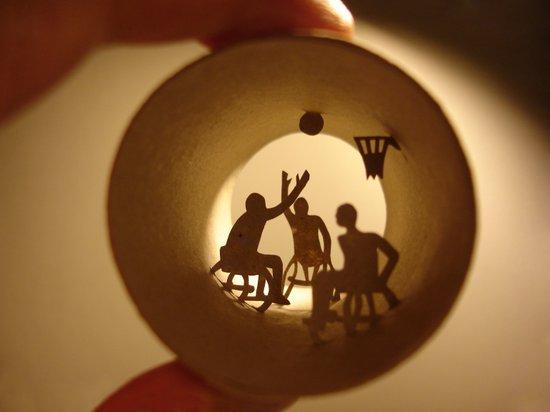 "Roll ""Basketball"" Art Print"