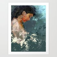 dream dream... Art Print