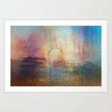 Planetary Dream Art Print