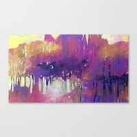 Misty Morning In The For… Canvas Print