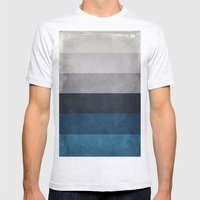 Greece Hues Mens Fitted Tee Ash Grey SMALL