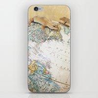 Globe-Trotting Gecko iPhone & iPod Skin