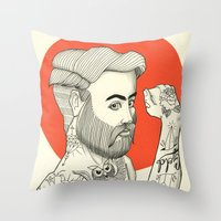 Son of a Sailor Throw Pillow