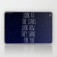 Look How They Shine For You Laptop & iPad Skin