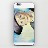 Portrait Of Maggie Smith… iPhone & iPod Skin