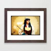 The Warrior Priestess Framed Art Print