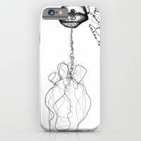 iPhone & iPod Case featuring can't find worlds to say by Evelina Matvejuk