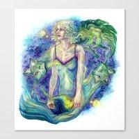 Transfixed Canvas Print
