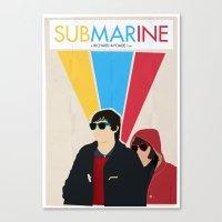 Submarine Movie Poster Canvas Print