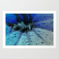 Deep Ocean Vent Art Print