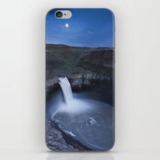 Palouse Falls Moon iPhone & iPod Skin