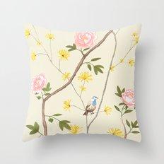 Jenny Chinoiserie  Throw Pillow