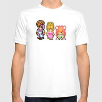 Secret Of Mana Character… Mens Fitted Tee White SMALL