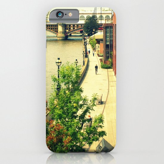 Along the River Thames. iPhone & iPod Case