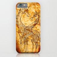 Henna Giraffe iPhone 6 Slim Case