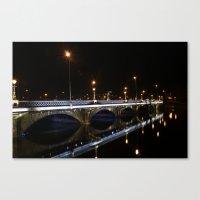 Queens Bridge Belfast Canvas Print