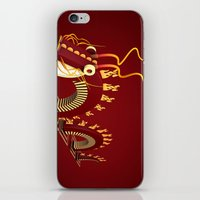 Dragon - Fire iPhone & iPod Skin