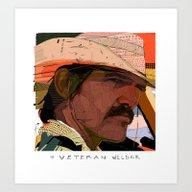 Art Print featuring Brolin by Tony Rodriguez