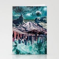 Mixed World  Stationery Cards