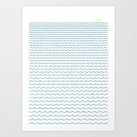 Sea Lover Art Print