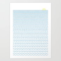 Sea Lover Art Print