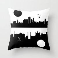 Under City Throw Pillow