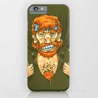 iPhone & iPod Case featuring Who wears whom? by Carlos Rocafort