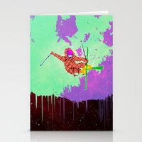 Snowstronomy Stationery Cards