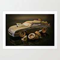 Mad Max Interceptor Art Print