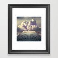 Breaker Daydreams Framed Art Print