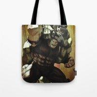 hulk v.s. juggernaut Tote Bag