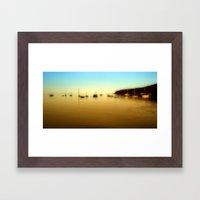 Lamlash Harbour Framed Art Print