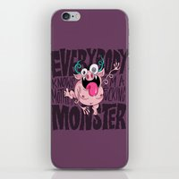 Everybody Knows I'm A Mo… iPhone & iPod Skin